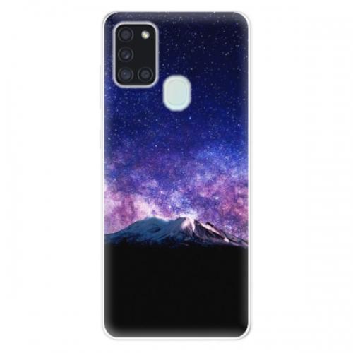 Odolné silikonové pouzdro iSaprio - Milky Way - Samsung Galaxy A21s