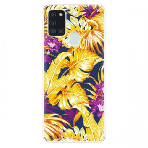Odolné silikonové pouzdro iSaprio - Tropical Orange 04 - Samsung Galaxy A21s