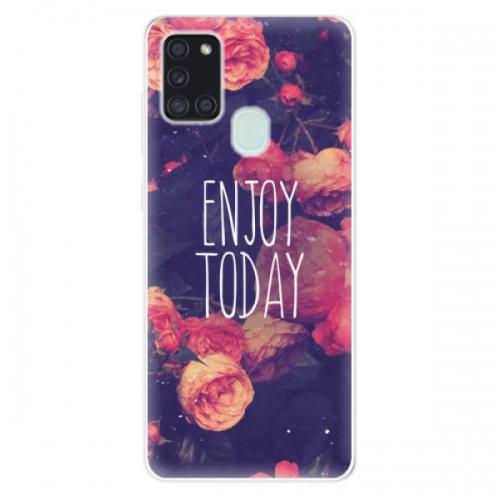 Odolné silikonové pouzdro iSaprio - Enjoy Today - Samsung Galaxy A21s
