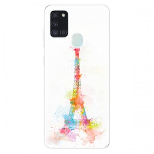 Odolné silikonové pouzdro iSaprio - Eiffel Tower - Samsung Galaxy A21s