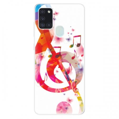 Odolné silikonové pouzdro iSaprio - Love Music - Samsung Galaxy A21s