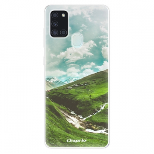 Odolné silikonové pouzdro iSaprio - Green Valley - Samsung Galaxy A21s