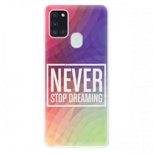 Odolné silikonové pouzdro iSaprio - Dreaming - Samsung Galaxy A21s