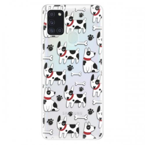 Odolné silikonové pouzdro iSaprio - Dog 02 - Samsung Galaxy A21s