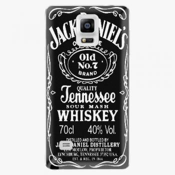 Plastový kryt iSaprio - Jack Daniels - Samsung Galaxy Note 4