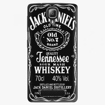 Plastový kryt iSaprio - Jack Daniels - Lenovo A1000