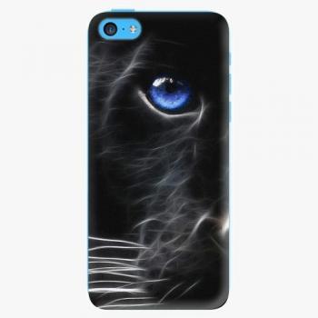 Plastový kryt iSaprio - Black Puma - iPhone 5C
