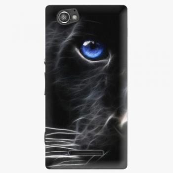 Plastový kryt iSaprio - Black Puma - Sony Xperia M