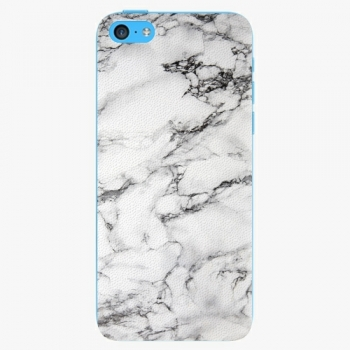 Plastový kryt iSaprio - White Marble 01 - iPhone 5C
