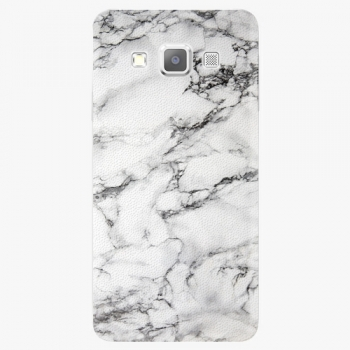 Plastový kryt iSaprio - White Marble 01 - Samsung Galaxy A3