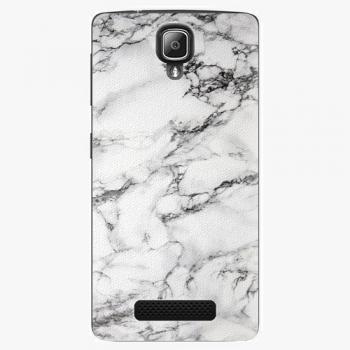 Plastový kryt iSaprio - White Marble 01 - Lenovo A1000