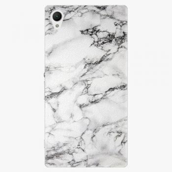 Plastový kryt iSaprio - White Marble 01 - Sony Xperia Z1