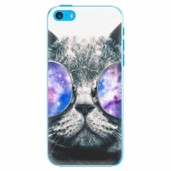 Plastové pouzdro iSaprio - Galaxy Cat - iPhone 5C
