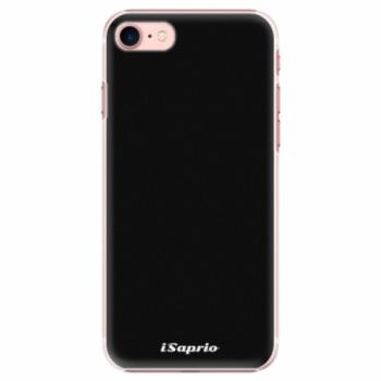 Plastové pouzdro iSaprio - 4Pure - černý - iPhone 7