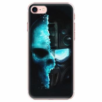 Plastové pouzdro iSaprio - Roboskull - iPhone 7