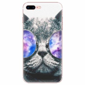 Plastové pouzdro iSaprio - Galaxy Cat - iPhone 7 Plus