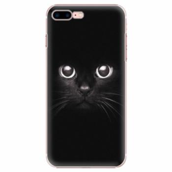 Plastové pouzdro iSaprio - Black Cat - iPhone 7 Plus