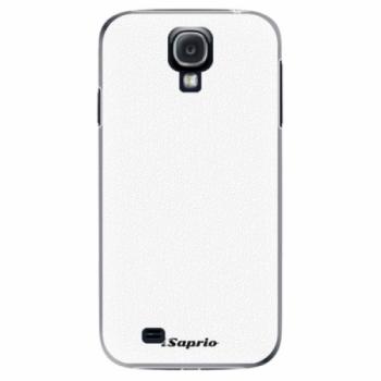 Plastové pouzdro iSaprio - 4Pure - bílý - Samsung Galaxy S4