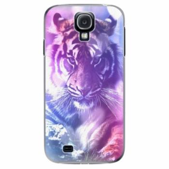 Plastové pouzdro iSaprio - Purple Tiger - Samsung Galaxy S4