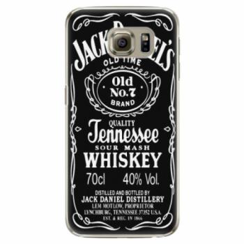 Plastové pouzdro iSaprio - Jack Daniels - Samsung Galaxy S6 Edge