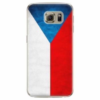 Plastové pouzdro iSaprio - Czech Flag - Samsung Galaxy S6 Edge