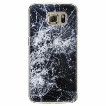 Plastové pouzdro iSaprio - Cracked - Samsung Galaxy S6 Edge