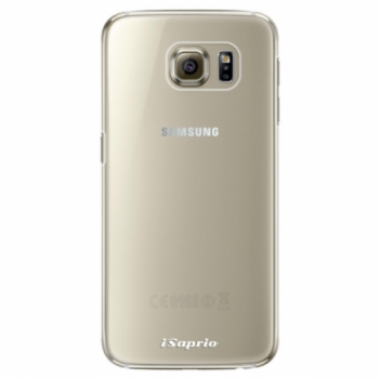Plastové pouzdro iSaprio - 4Pure - mléčný bez potisku - Samsung Galaxy S6 Edge