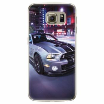 Plastové pouzdro iSaprio - Mustang - Samsung Galaxy S6 Edge