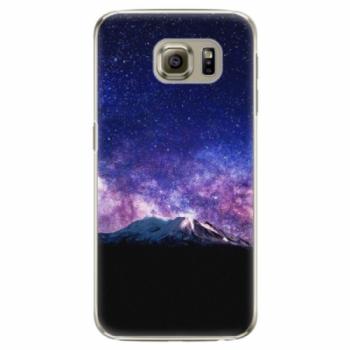 Plastové pouzdro iSaprio - Milky Way - Samsung Galaxy S6 Edge