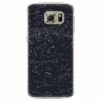 Plastové pouzdro iSaprio - Night Sky 01 - Samsung Galaxy S6 Edge