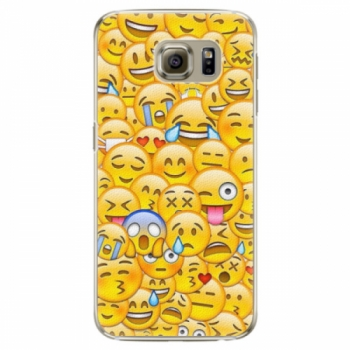 Plastové pouzdro iSaprio - Emoji - Samsung Galaxy S6 Edge