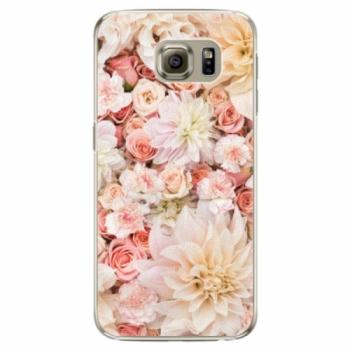 Plastové pouzdro iSaprio - Flower Pattern 06 - Samsung Galaxy S6 Edge