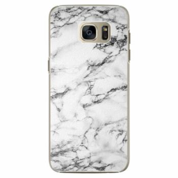 Plastové pouzdro iSaprio - White Marble 01 - Samsung Galaxy S7