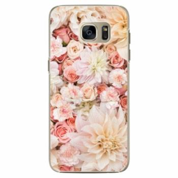 Plastové pouzdro iSaprio - Flower Pattern 06 - Samsung Galaxy S7