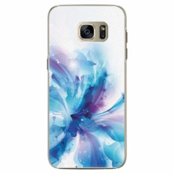 Plastové pouzdro iSaprio - Abstract Flower - Samsung Galaxy S7