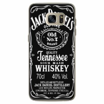Plastové pouzdro iSaprio - Jack Daniels - Samsung Galaxy S7 Edge