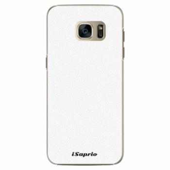 Plastové pouzdro iSaprio - 4Pure - bílý - Samsung Galaxy S7 Edge