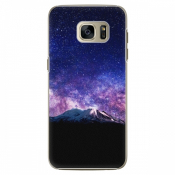 Plastové pouzdro iSaprio - Milky Way - Samsung Galaxy S7 Edge