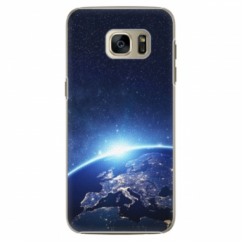 Plastové pouzdro iSaprio - Earth at Night - Samsung Galaxy S7 Edge