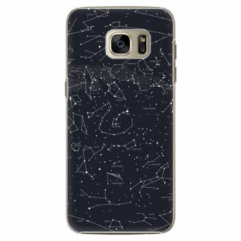 Plastové pouzdro iSaprio - Night Sky 01 - Samsung Galaxy S7 Edge