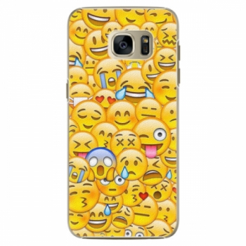 Plastové pouzdro iSaprio - Emoji - Samsung Galaxy S7 Edge