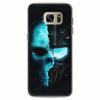 Plastové pouzdro iSaprio - Roboskull - Samsung Galaxy S7 Edge