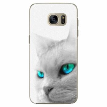 Plastové pouzdro iSaprio - Cats Eyes - Samsung Galaxy S7 Edge