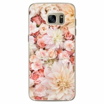 Plastové pouzdro iSaprio - Flower Pattern 06 - Samsung Galaxy S7 Edge