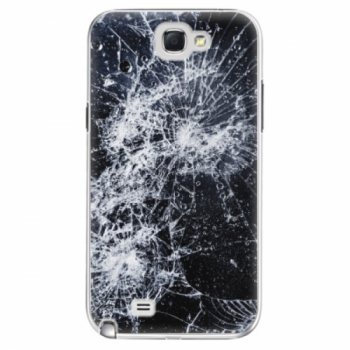 Plastové pouzdro iSaprio - Cracked - Samsung Galaxy Note 2