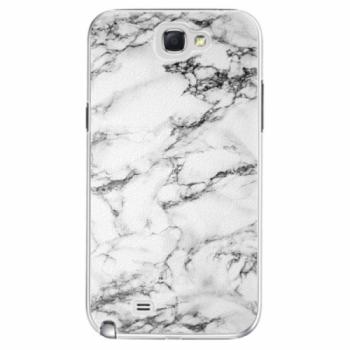 Plastové pouzdro iSaprio - White Marble 01 - Samsung Galaxy Note 2