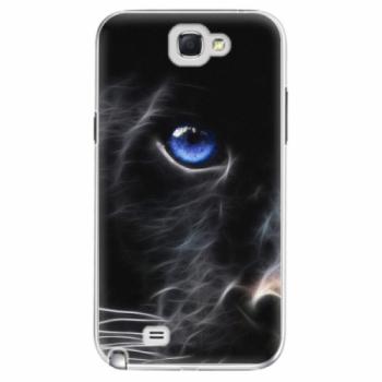 Plastové pouzdro iSaprio - Black Puma - Samsung Galaxy Note 2
