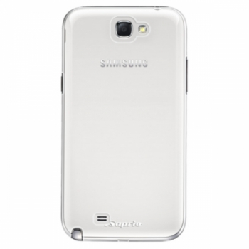 Plastové pouzdro iSaprio - 4Pure - mléčný bez potisku - Samsung Galaxy Note 2
