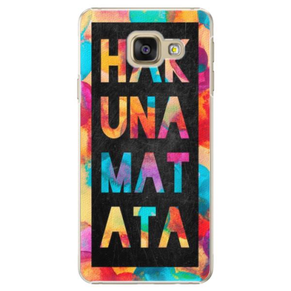 Plastové pouzdro iSaprio - Hakuna Matata 01 - Samsung Galaxy A3 2016