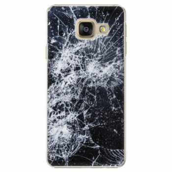 Plastové pouzdro iSaprio - Cracked - Samsung Galaxy A3 2016